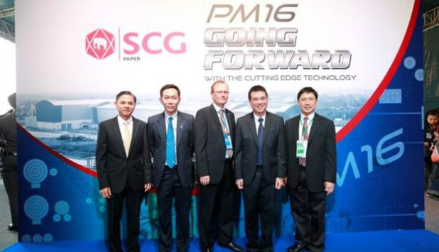 Valmet-supplied OptiConcept M boardmaking line officially launched at SCG Paper's mill in Thailand