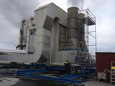 Waggeryd Cell, the flash dryer investment has increased the mill's capacity