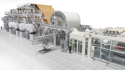 Valmet Advantage DCT tissue line successfully started up at Syktyvkar Tissue Group in Russia
