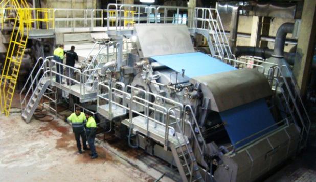 Ecofibras started up TM#5 in Aranguren, Spain, after major rebuilding