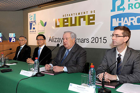 Double A in Alizay: the re-industrialization of the paper pulp mill officially finalized