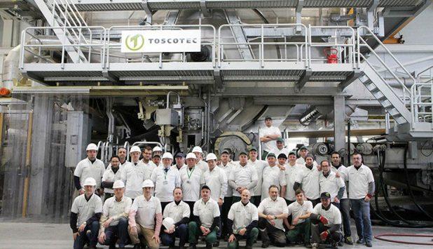 GRIGISKES AB starts up the new TOSCOTEC Tissue Line at Vilnius mill