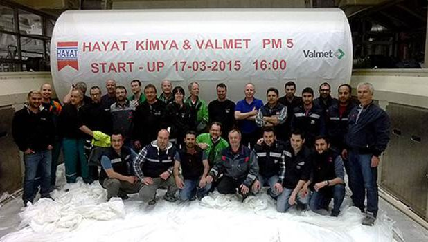 Two new Valmet-supplied tissue lines started up at Hayat Kimya in Turkey and Russia