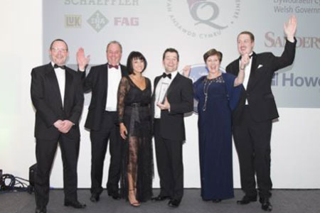 Smurfit Kappa Abercarn named as the Welsh Quality Award Winner 2014