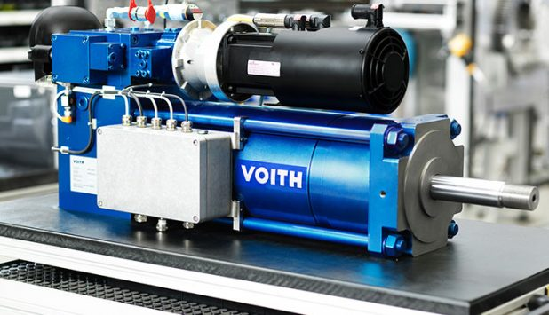 Electro-Hydraulic, Self-Contained and with Fail-Safe Function – the Voith SelCon Linear Actuator