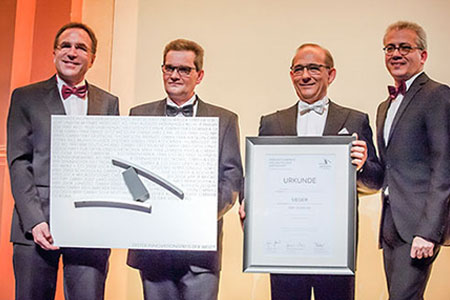 2015 German Business Innovation Award goes to Isra Vision