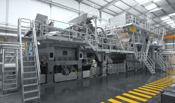 Toscotec delivers a second tissue line to AMS BS STAR Paper S.A.
