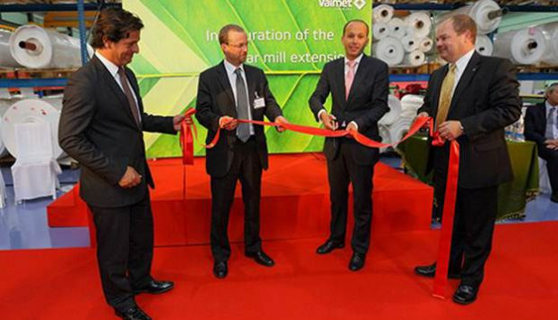 Valmet inaugurated the extension of its filter fabric production and R&D center in Ovar, Portugal