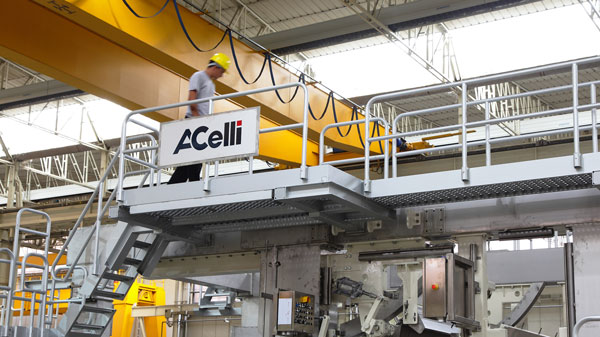 Another successful start-up of a new A.Celli Paper Tissue Machine
