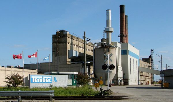 Tembec reports financial results for its second quarter ended March 28, 2015