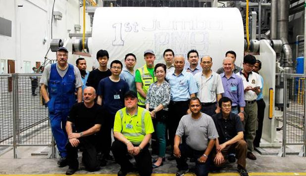 New Valmet-delivered tissue line started up at PT Suparma Tbk's mill in Indonesia