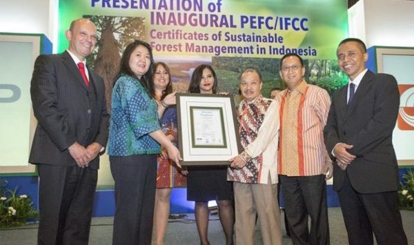 APP increases availability of PEFC certified products