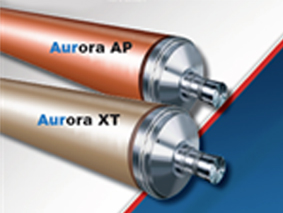 Xerium Introduces Aurora Corona treater roll technology for Flexible Packaging Applications