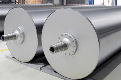 Steel cylinders for the dryer section