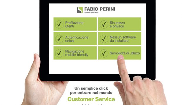 FABIO PERINI: The new customer service portal