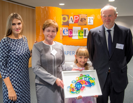 Polish primary school and Finnish university win 2015 paper recycling awards