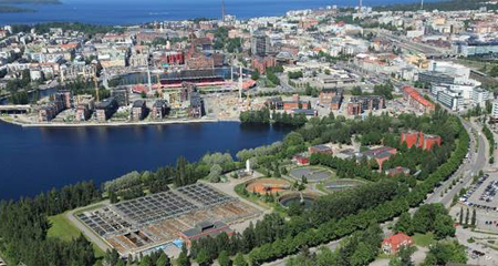 Valmet to supply solids measurement and sludge dewatering optimizer to Tampere Water's Viinikanlahti wastewater treatment plant in Tampere, Finland