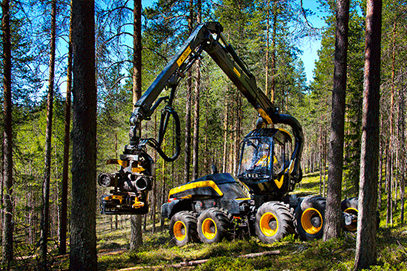 New generation forest harvester from Finnish Ponsse named finalist for the 2015 Swedish Steel Prize