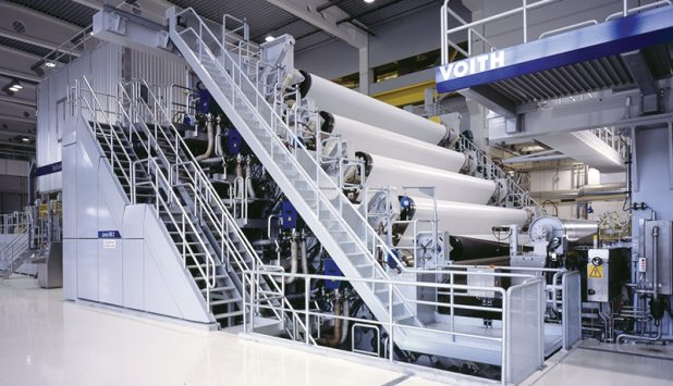 Successful startup: Voith retrofits Braviken PM 53 to produce new paper grades
