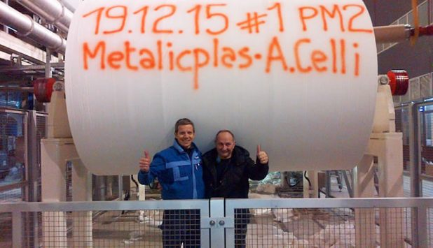 A.Celli Paper: the new tissue plant at Metalicplas (Pehart Tec Group) in Romania is up and running