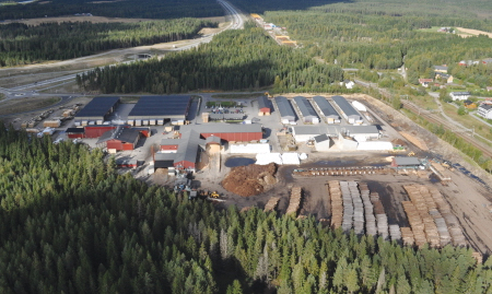 Södra has divested the Hauerseter sawmill to RingAlm Tre