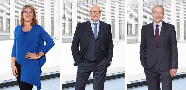 Roberta Ghilardi, Dr Hans-Peter Bauer and Harald Knechtel are the new managing directors of Goebel Schneid- und Wickelsysteme GmbH