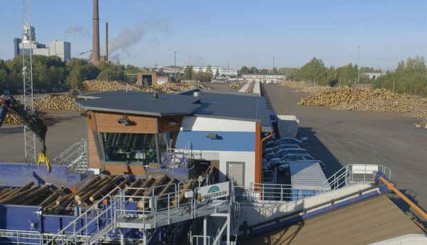 New log sorting line improves the overall production of UPM Seikku sawmill