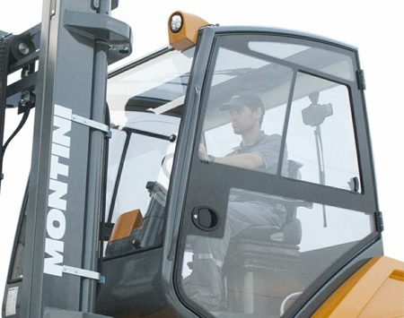 "Pyrolytic glasses on MONTINI forklifts series ""MR"""