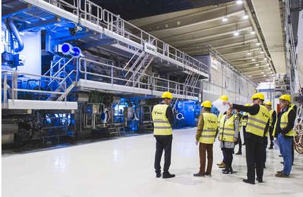 Husum mill: new folding boxboard machine inaugurated by Metsä Board