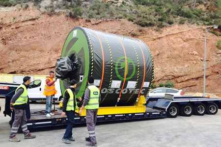 Successful start-up of the Toscotec delivered TT DOES package at ISMA 2000 S.L., in La Torre de Claramunt mill, Barcelona, Spain