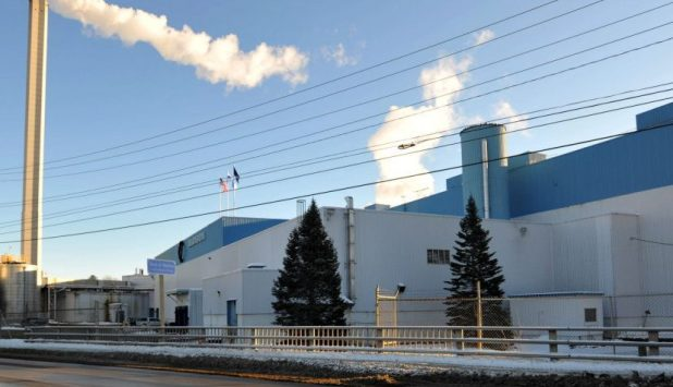 Paper production ceased at Madison Paper Industries in the US