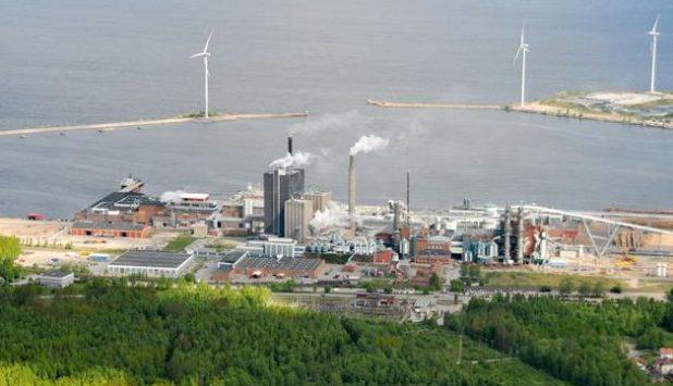 ÅF reduces sulphur emissions at Skutskär mill in Sweden