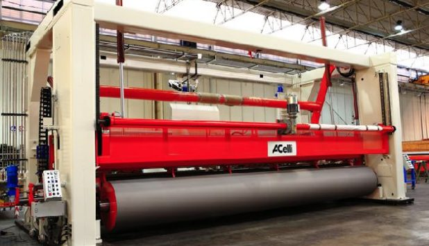 A.Celli Paper to supply 4 tissue rewinders for Lee & Man Paper