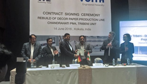 Chandrahati PM 4 for ITC: Voith's expertise and technology