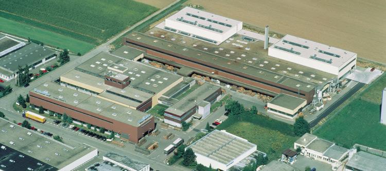 SchäferRolls GmbH headquarters in Renningen.