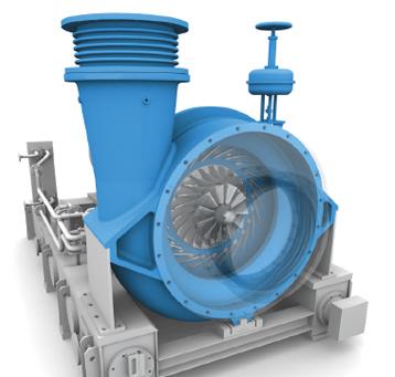 Type RT TURBAIR® vacuum blower.