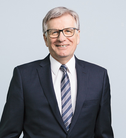 Dr. Hubert Lienhard, President and CEO of Voith.
