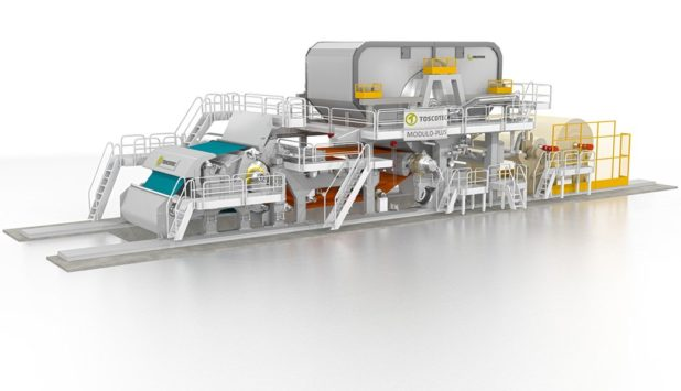 Ariete S.r.l. chooses Toscotec for the installation of a new tissue machine