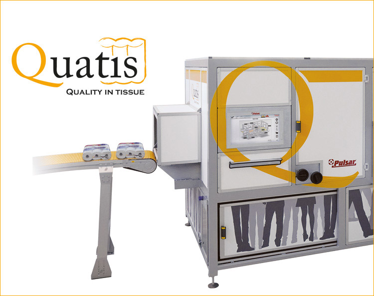 Quatis for wrapped products.