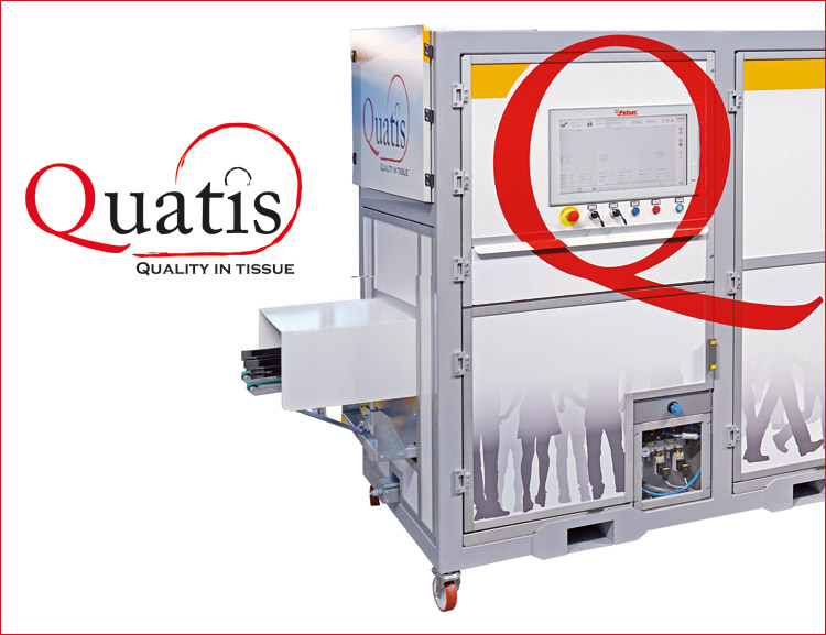 Quatis for unwrapped products.