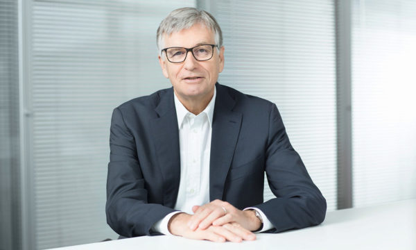 Dr. Hubert Lienhard, Voith President and CEO.