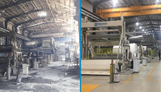 After the fire, the Essel plant in Turkey returns to normal operation. Recard restarts PM2 in record time