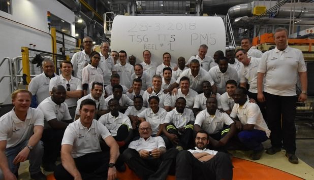 Twinsaver Group fires up Toscotec's AHEAD-2.0S tissue machine at Kliprivier mill