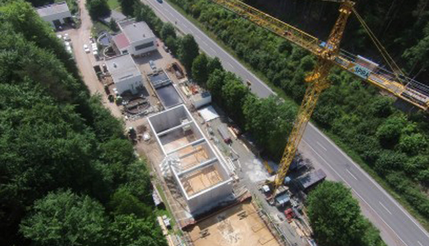 Cordier Spezialpapier invested over Euro 3 million in new wastewater treatment plant in Germany