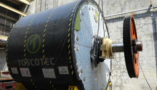 Two Toscotec's TT SYD start up at Bataan 2020, Inc. in the Philippines