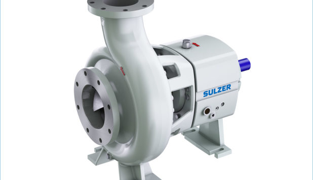 Sulzer launches new CPE end-suction single-stage centrifugal pump