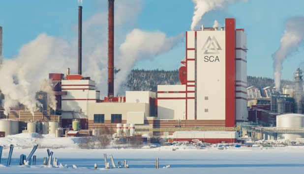 Expanded Östrand pulp mill in operation