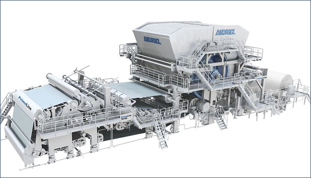 ANDRITZ receives order to supply two tissue machines to Taison Pulp, China