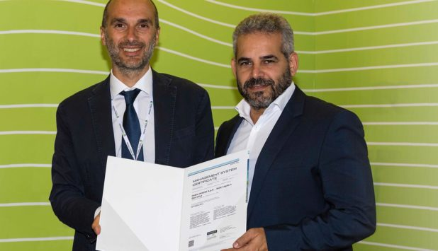 Fabio Perini S.p.A. obtains the prestigious ISO 50001 certification