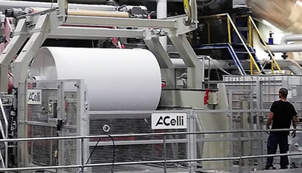 A.Celli Rebuilding: Shaniv Paper Industries Tissue Machine TM1 launched